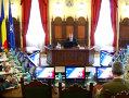 Imaginea articolului Iohannis: Instituţiile au transmis că nu sunt raţiuni pentru ridicarea nivelului de alertă teroristă în România