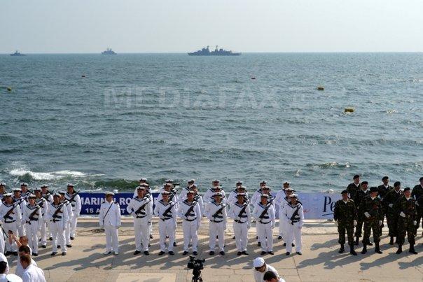Forţele Navale Române îşi instruiesc militarii la două exerciţii multinaţionale în Marea Neagră