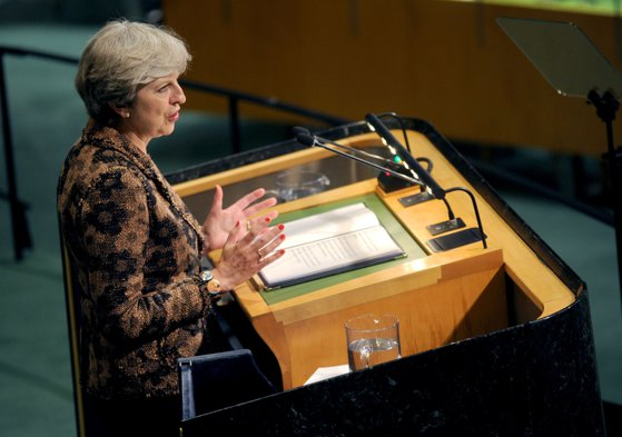 Imaginea articolului Tranziţie post-Brexit pentru doi ani, avansată de Theresa May. Emmanuel Macron aşteaptă clarificări din partea Marii Britanii privind negocierile