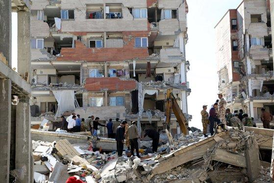 Imaginea articolului Bilanţul cutremurului devastator de la frontiera dintre Iran şi Irak a ajuns la 530 de morţi