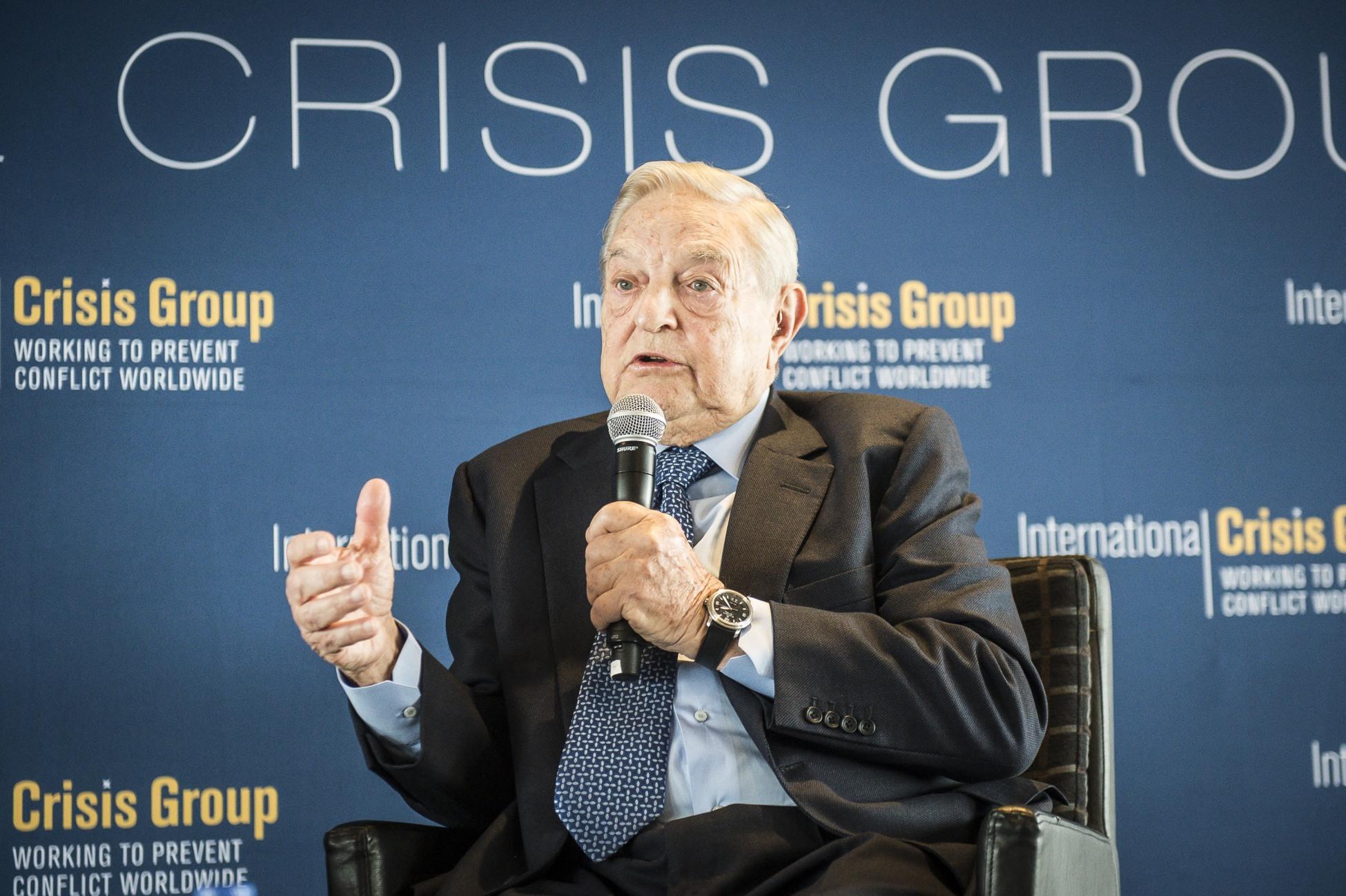 George Soros condamnă campania dusă de Guvernul Ungariei împotriva sa