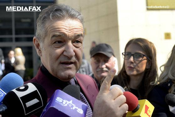 Imaginea articolului Gigi Becali: CEDO cere informaţii Ministerului Justiţiei privind condamnarea în dosarul MApN