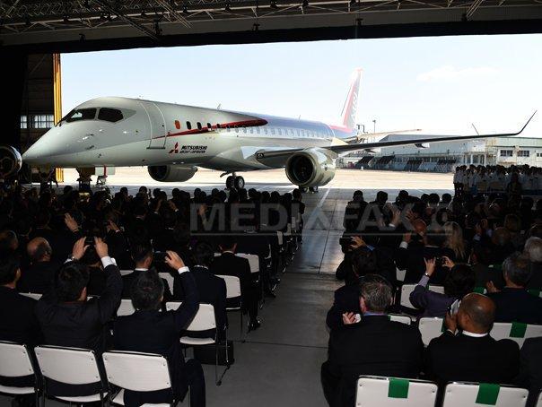 Mitsubishi Aircraft a prezentat primul avion japonez de pasageri, destinat curselor regionale