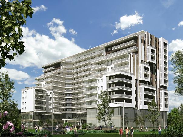 Complex rezidential DE LUX lângă Herăstrău, cu SPA, piscină şi sală de fitness. Cât va costa un apartament - FOTO