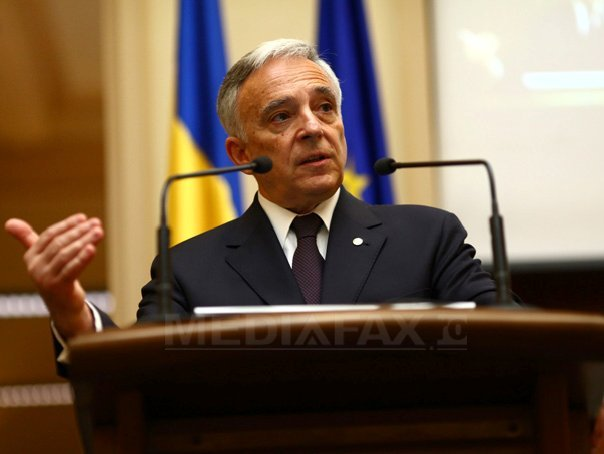 Isărescu: �ndeplinim cele cinci criterii de la Maastricht, dar nu putem adera la euro nici peste doi(...)