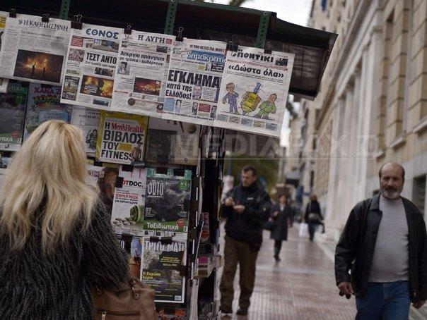 Grevă generală de 24 de ore �n Grecia, �mpotriva politicii de austeritate