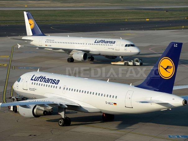 Zeci de zboruri ale Lufthansa au fost anulate joi din cauza unei noi greve a pilotilor