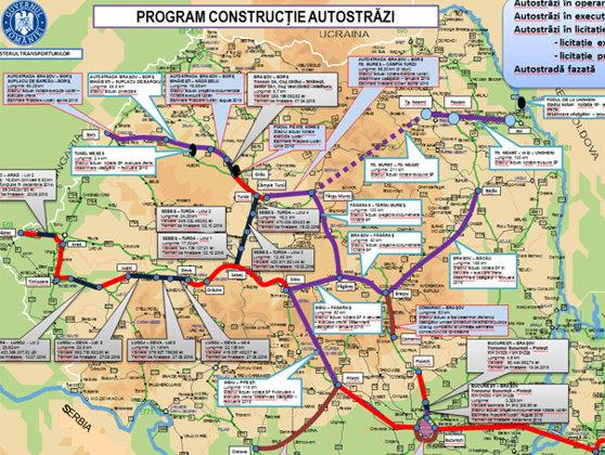 Imaginea articolului Rus: România va finaliza 250 de kilometri de autostradă în următorii doi ani. Care sunt PLANURILE de infrastructură pentru 2015-2016