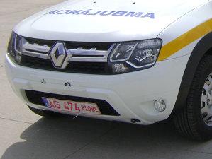 Cum arată prima ambulanţă Duster