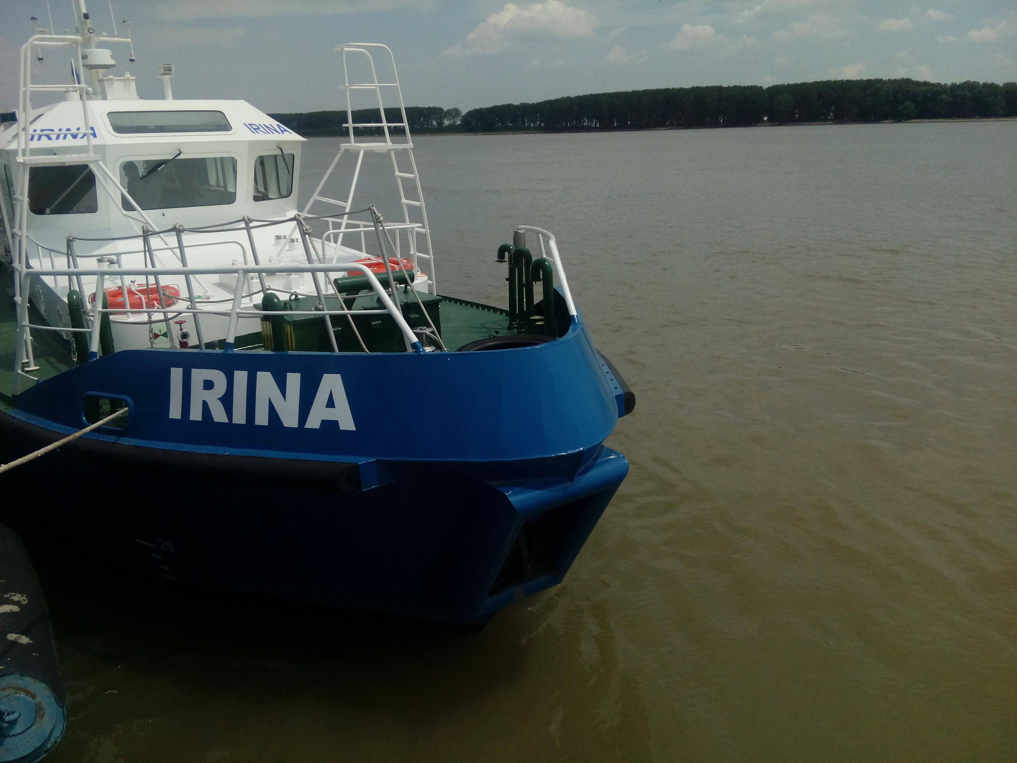 FOTO Vapor de aproape jumătate de milion de euro construit în Constanţa, gata de misiune