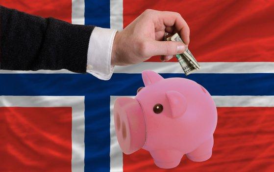 """Imaginea articolului Cea mai mare """"puşculiţă"""" a lumii: Fondul Suveran al Norvegiei creşte cu 285 de milioane de dolari pe zi"""