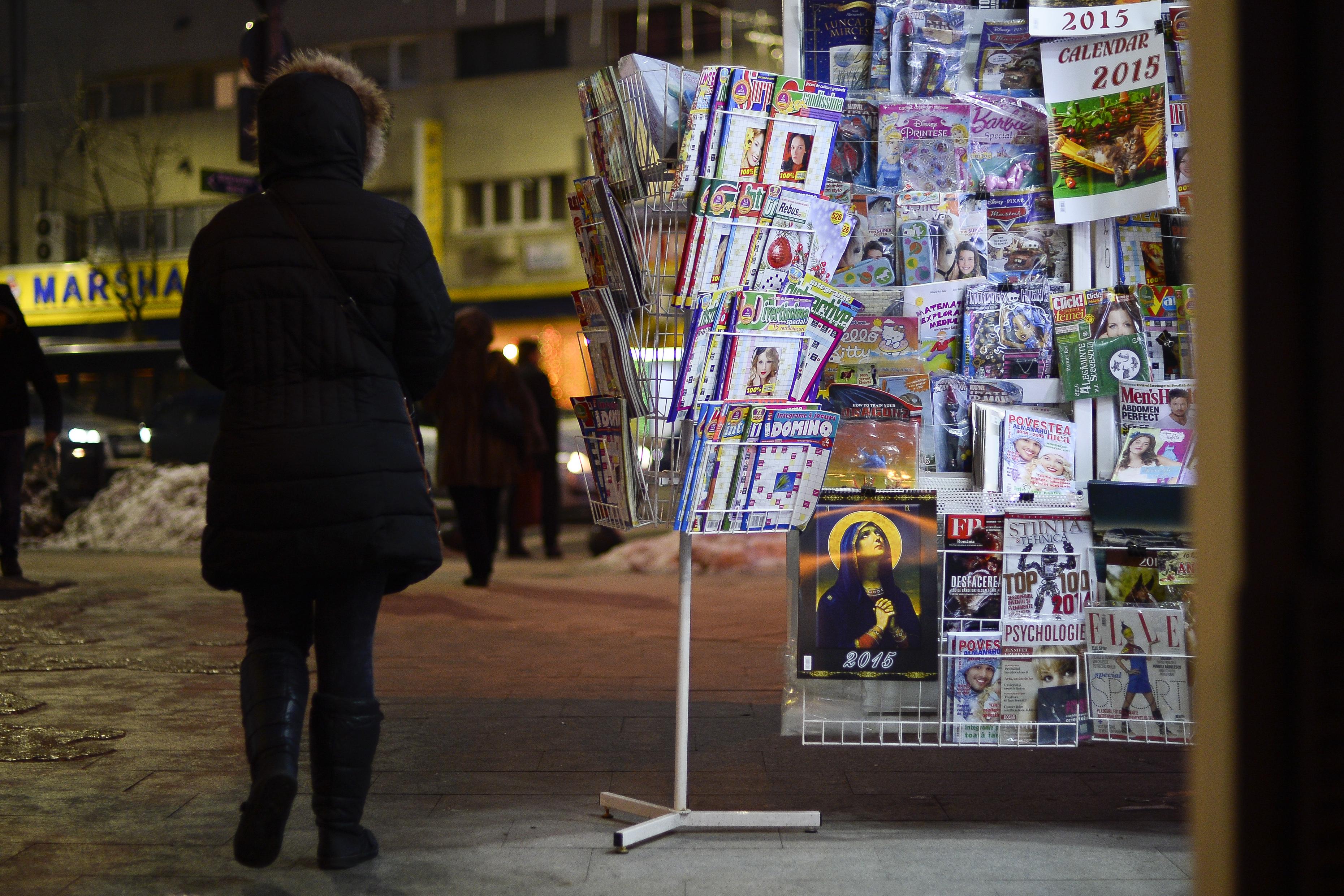 Difuzorii de presă din Bucureşti ameninţă că nu vor mai difuza, luni, ziare şi reviste în Capitală