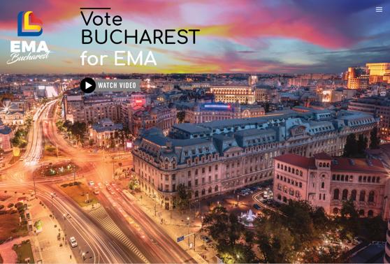 Imaginea articolului Relocarea Agenţiei Europene a Medicamentului, aleasă, luni, în urma unui vot secret. Noul oraş, selectat pe criterii politice