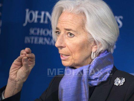Imaginea articolului Christine Lagarde, directorul FMI, observă că sunt prea mulţi oameni care nu resimt efectele creşterii economice