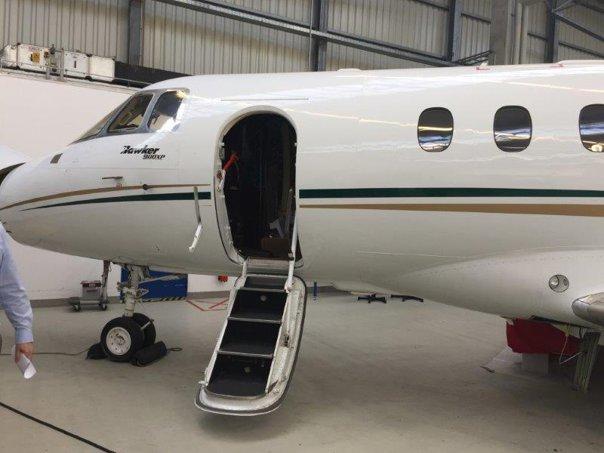 Imaginea articolului Aeronava de lux a lui Ioan Niculae, scoasă la vânzare de Banca Transilvania pentru că nu şi-a putut plăti datoriile