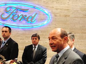 Băsescu: Proiectul Ford de la Craiova va continua