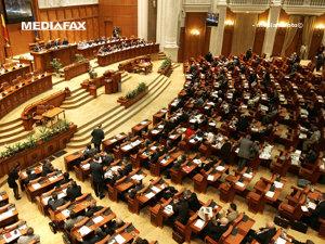 Proiectul de buget pentru 2009, trimis Parlamentului (Imagine: Mediafax Foto)