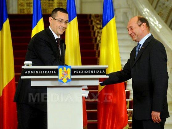 Imaginea articolului Ponta se poziţionează lângă Băsescu la ideea Statelor Unite ale Europei, înainte să plece la Berlin