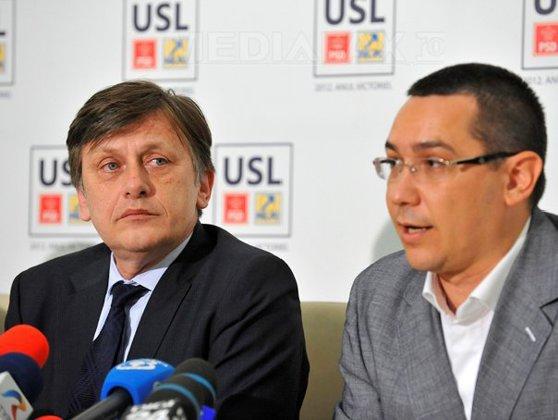Imaginea articolului Antonescu, despre afirmaţiile lui Ponta: Nu mai există USL dacă sunt doi candidaţi la prezidenţiale