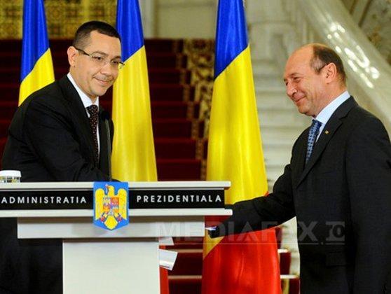 Imaginea articolului Ponta: Depunem plângere penală împotriva lui Băsescu, după declaraţiile despre Firea/ Băsescu: Ponta, mai preocupat de protejarea baronilor locali decât de nevoile românilor