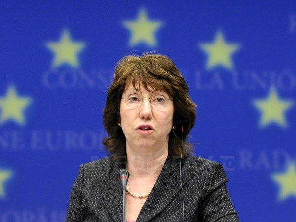 Catherine Ashton, ministrii de Externe ai Republicii Moldova si Georgiei, la Reuniunea diplomatiei rom�ne