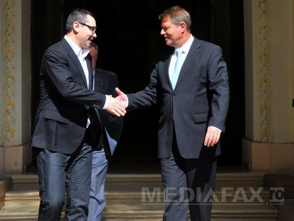 Iohannis: Eu nu sunt vorbaret, ci combativ; abia astept sa-l �nt�lnesc pe Ponta fata �n fata la TV