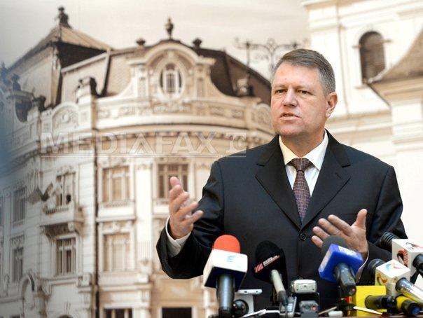 Iohannis: Sunt un politician de succes, pur si simplu. Sibiul este cartea mea de vizita, e vizitabila