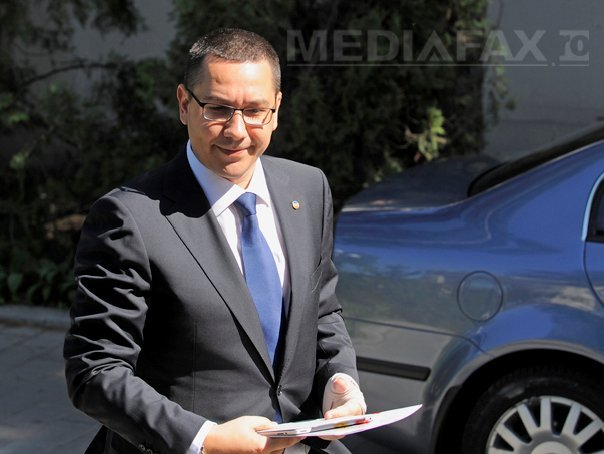 Ponta: Demisia lui Hrebenciuc din Parlament scoate justitia din campania electorala