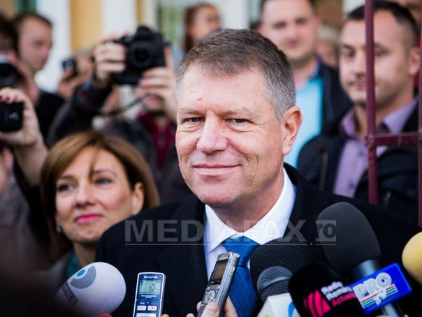 Presedintele ales, Klaus Iohannis, asteptat la Alba Iulia de 1 Decembrie