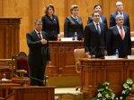 Imaginea articolului REPORTAJ: Ceremonialul depunerii jurământului de către Iohannis în Parlament, moment solemn şi decent - FOTO