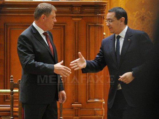 Imaginea articolului Iohannis, despre relaţia cu Ponta: Nu avem niciun fel de coabitare, pact sau înţelegere. Mi se pare normal să ne întâlnim atunci când situaţia o impune