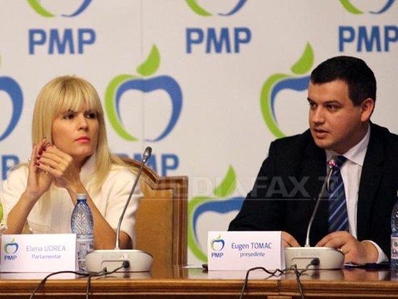 Imaginea articolului ANALIZĂ - Congres la PMP: Tomac-candidat unic, Băsescu-invitat, Udrea-absentă