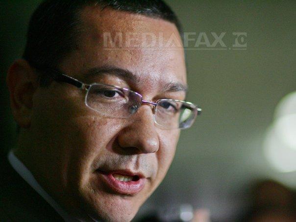 Ponta: Dacă se schimbă axa Londra-Washington în Berlin-Washington, că e la modă, eu aş propune Roma
