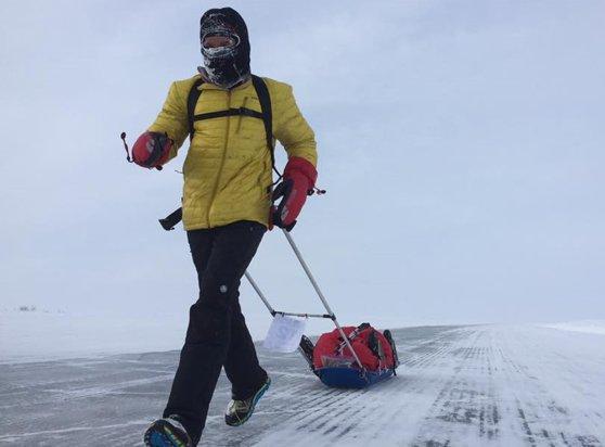 Imaginea articolului Iohannis l-a felicitat pe Tiberiu Uşeriu pentru reuşita obţinută la Maratonul Arctic: Un astfel de rezultat este demn de aprecierea şi respectul nostru