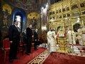 Imaginea articolului Iohannis şi soţia au asistat la Slujba Învierii din balconul Palatului Patriarhiei