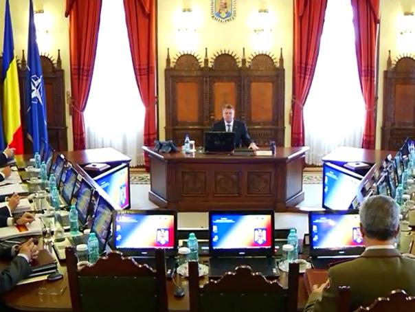 Consiliul Suprem de Apărare a Ţării reunit la Palatul Cotroceni. Concluziile summitului NATO şi atacurile recente din Europa, pe agenda întâlnirii