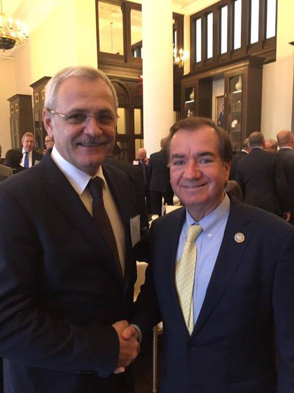 Imaginea articolului Liviu Dragnea s-a întâlnit cu preşedintele Comisiei pentru afaceri externe din Camera Reprezentanţilor şi cu preşedintele Comisiei pentru intelligence
