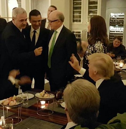 Imaginea articolului GALERIE FOTO Liviu Dragnea, poze în apropierea lui Donald Trump: Am participat la o cină în format restrâns
