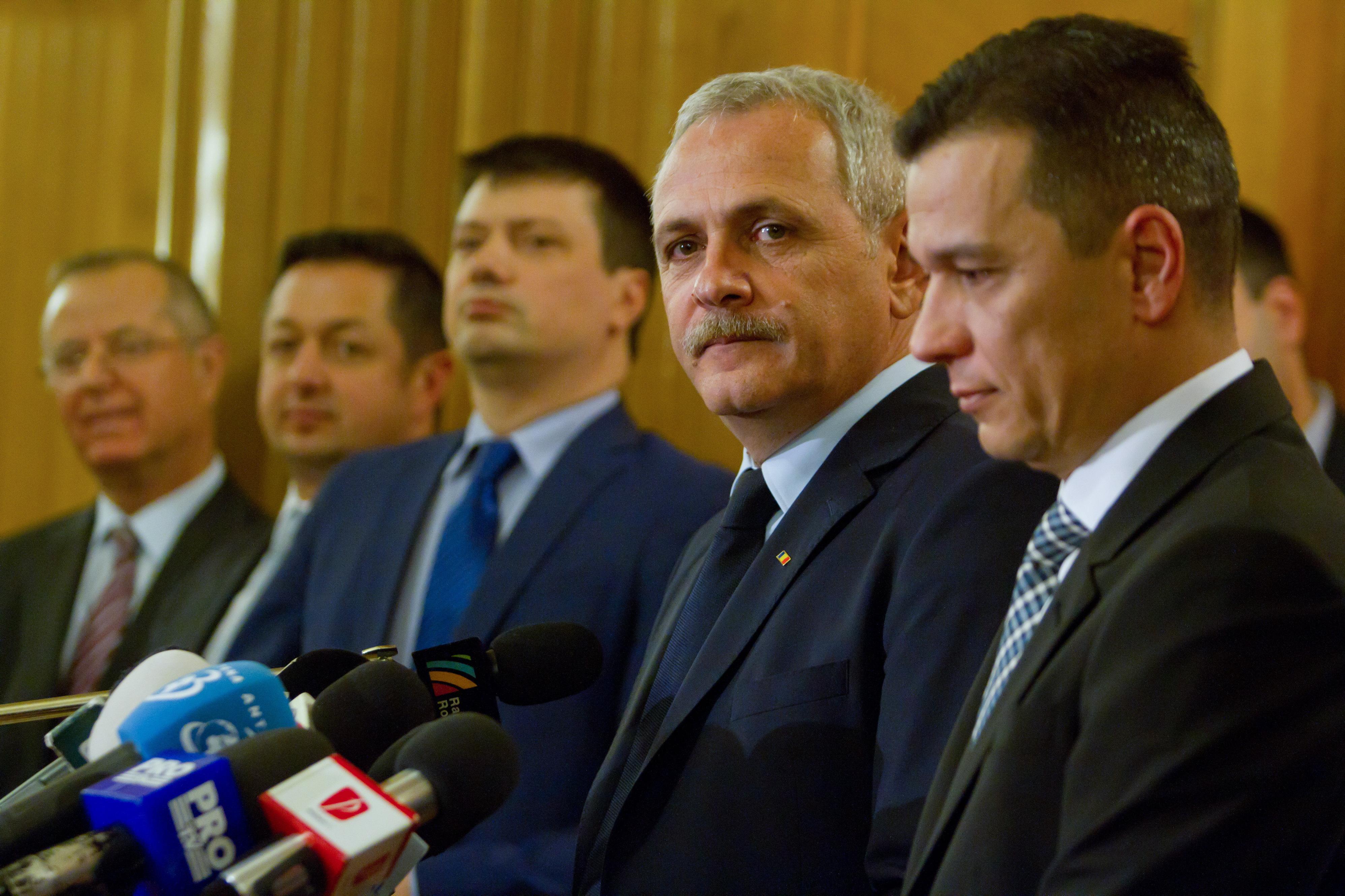 """Liviu Dragnea: Şi Grindeanu, şi """"noi"""" ne-am gândit la variante pentru Justiţie. Miercuri decidem"""