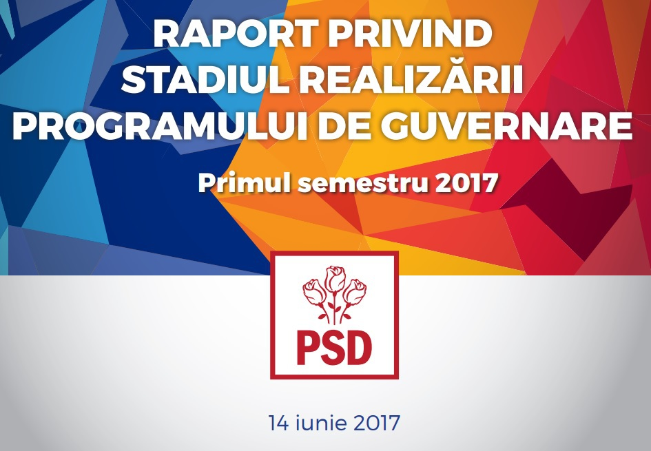 Ce conţine RAPORTUL privind evaluarea Guvernului Grindeanu: 13% măsuri îndeplinite. Principalele reproşuri: lipsă de comunicare şi de coordonare   FOTO DOCUMENT
