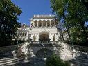 Imaginea articolului Palatul Cotroceni, iluminat cu ocazia Zilei Drapelului Naţional
