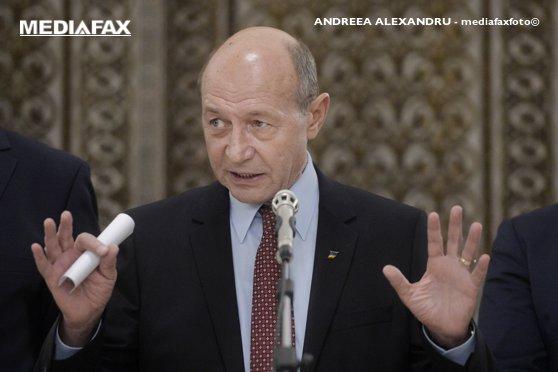 Imaginea articolului Traian Băsescu: Dacă PNL nu va nominaliza un candidat pentru funcţia de premier, o va face PMP
