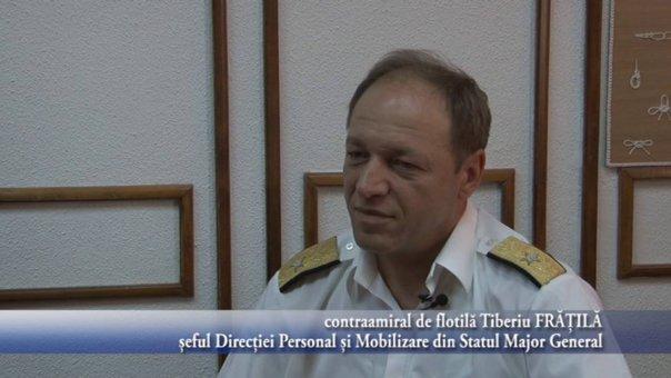 Imaginea articolului Contraamiralul de flotilă Tiberiu Frăţilă, trecut în rezervă: Pensia mea echivalează cu salariul secretarului Primăriei Alexandria