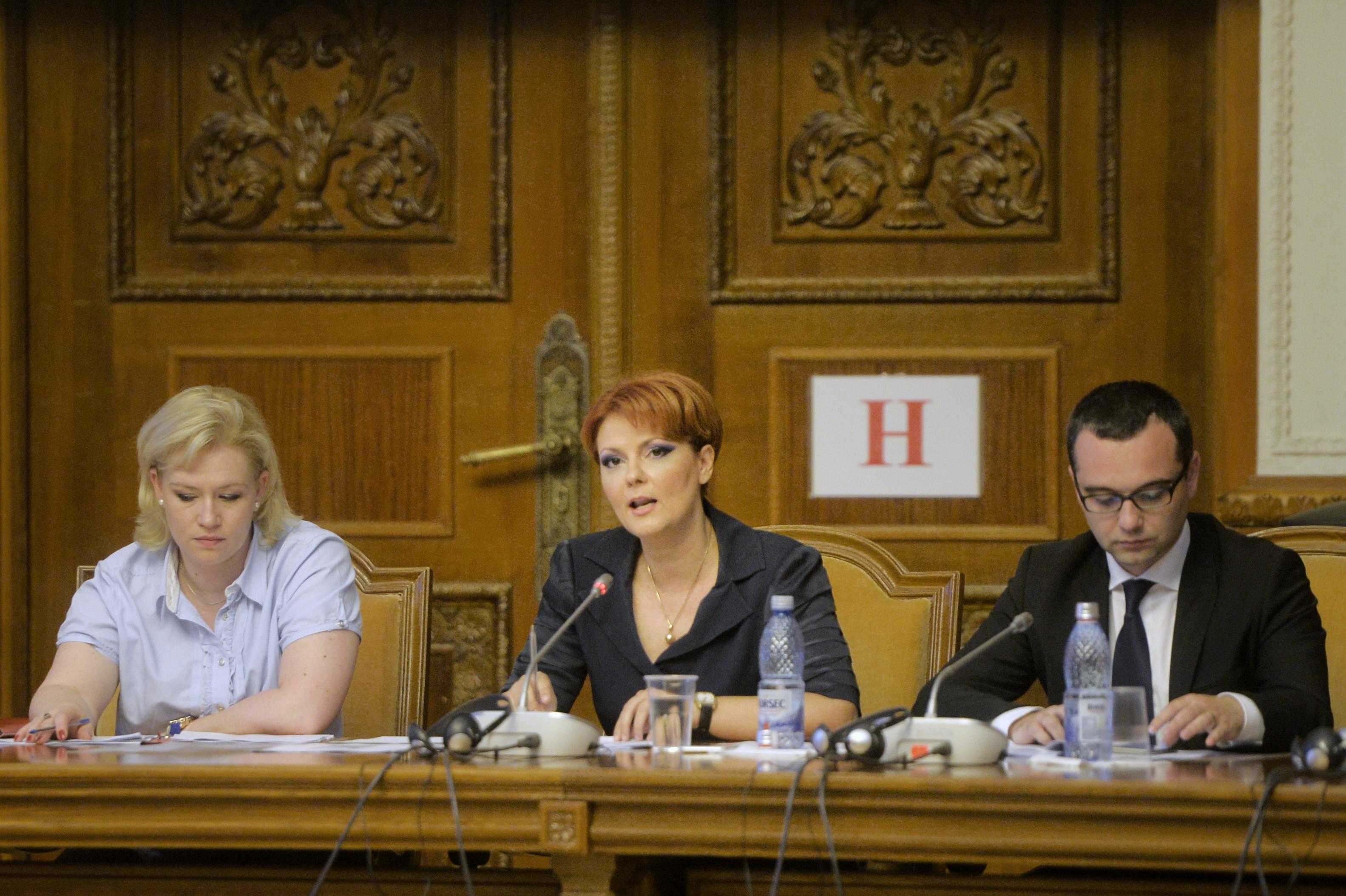 Lia Olguţa Vasilescu, ministrul Muncii: Inechităţile din legea pensiilor se pot corecta printr-o legislaţie nouă