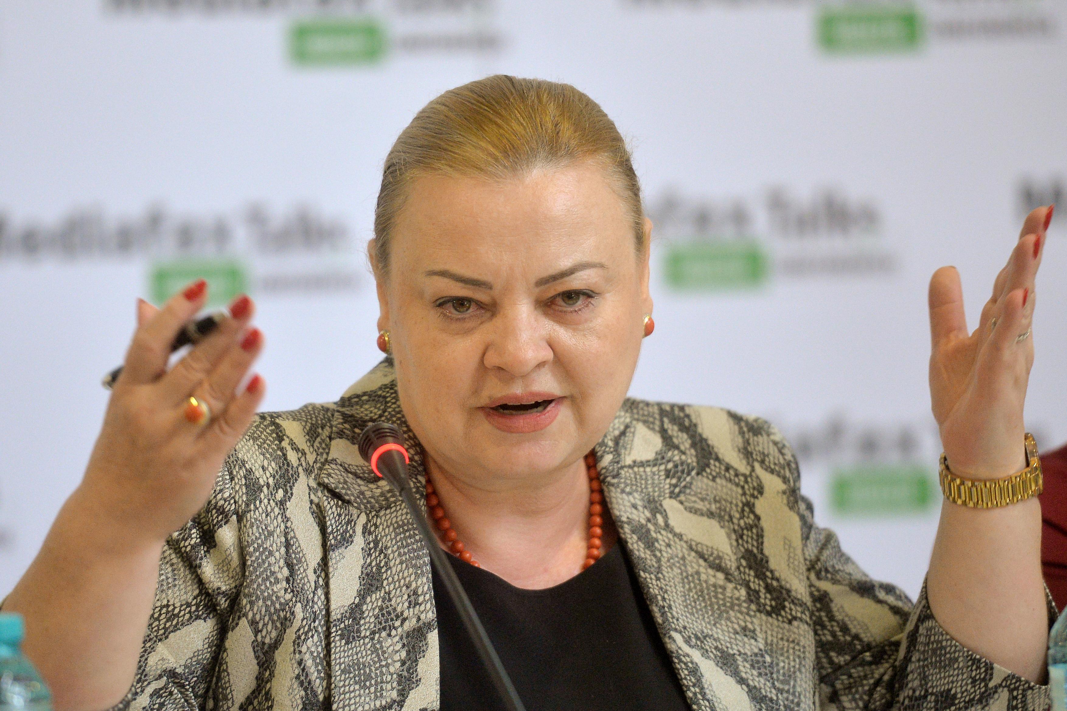 Rodica Nassar, fost deputat, a fost numită secretar de stat în Ministerul Sănătăţii