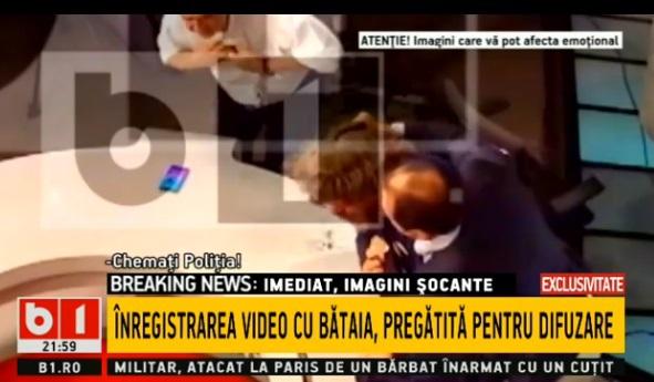 Detaliul esenţial care lipseşte din filmul bătăii dintre Palada şi Goţiu din studioul B1, sesizat chiar de cel agresat