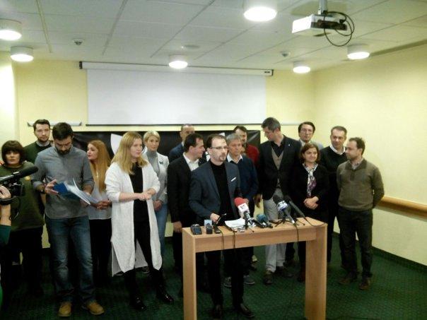 Imaginea articolului Ludovic Orban, Dan Barna şi Dacian Cioloş au fost prezenţi la conferinţa organizaţiilor civice, pentru mesaj comun împotriva PSD-ALDE