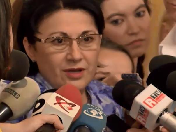 Ecaterina Andronescu, audiată la DNA în dosarul bazei sportive ''Cutezătorii''