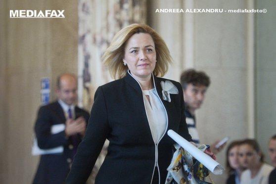 Imaginea articolului Ministrul Afacerilor Interne, Carmen Dan, a ajuns la Guvern