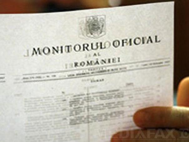 Iohannis cere reexaminarea Legii prin care Monitorul Oficial trece în subordinea Camerei Deputaţilor